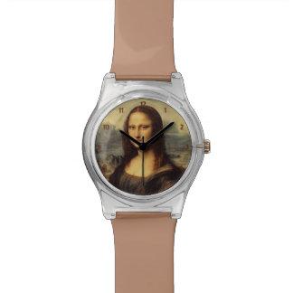 Mona Lisa de Leonardo da Vinci Relojes De Pulsera