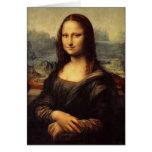 Mona Lisa de Leonardo da Vinci Tarjetas