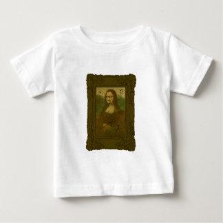 Mona Lisa Defaced Baby T-Shirt