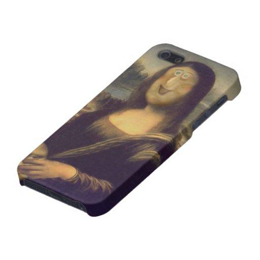 Mona Lisa - desenmascarada iPhone 5 Carcasa