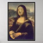 Mona Lisa - desenmascarada Posters