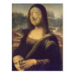 Mona Lisa - desenmascarada Tarjetas Postales
