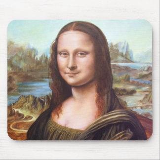 Mona Lisa después de Leonardo Tapetes De Ratón
