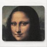 Mona Lisa (detail) Mousepads