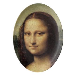 Mona Lisa detalladamente por Leonardo da Vinci Badeja De Porcelana