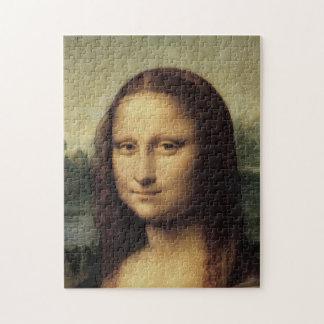 Mona Lisa detalladamente por Leonardo da Vinci Puzzle