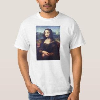 Mona Lisa - Digitally Cleaned and Brightened T Shirt