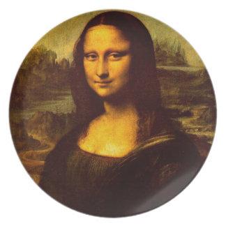 Mona Lisa Dinner Plate