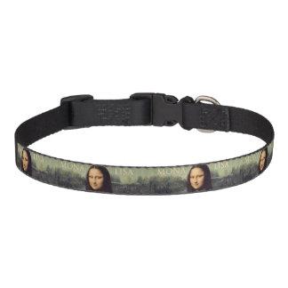 Mona Lisa dog collar