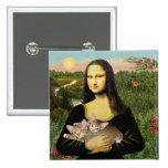 Mona Lisa - dos gatitos del Tabby Pin