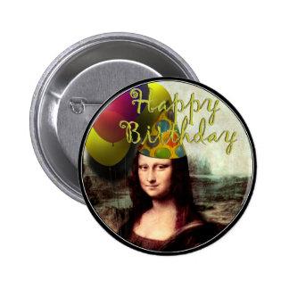 Mona Lisa - el chica del cumpleaños Pins
