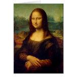 Mona Lisa el | Leonardo da Vinci Tarjeta Pequeña