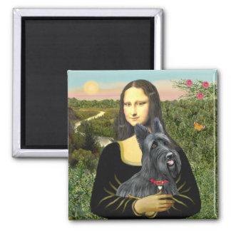 Mona Lisa - escocés Terrier 1 Iman