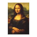 Mona Lisa estiró la impresión de la lona Impresiones De Lienzo