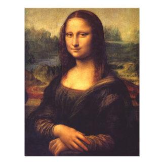 """Mona Lisa Folleto 8.5"""" X 11"""""""