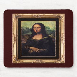 Mona Lisa Framed mousepad