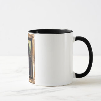 Mona Lisa Framed mug