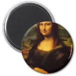 Mona Lisa Fridge Magnets