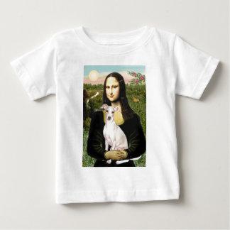 Mona Lisa - galgo italiano 5 Playera De Bebé