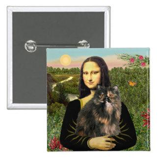 Mona Lisa - gato de calicó persa Pin