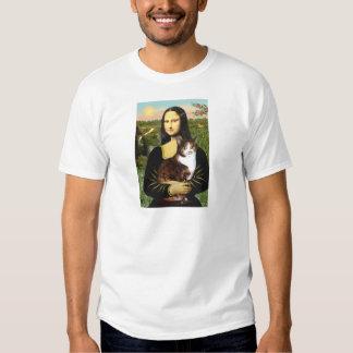 Mona Lisa - gato de calicó Poleras