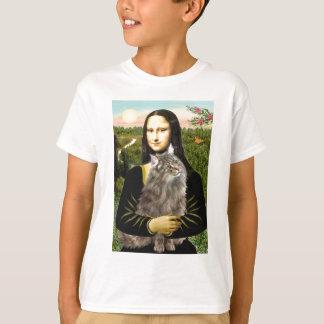 Mona Lisa - gato del bosque de Norweigan Camisas