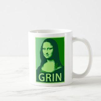 Mona Lisa Gin Classic White Coffee Mug