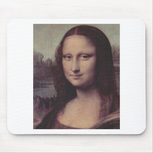 Mona Lisa hace frente Alfombrilla De Raton