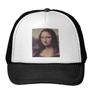 Mona Lisa hace frente Gorros