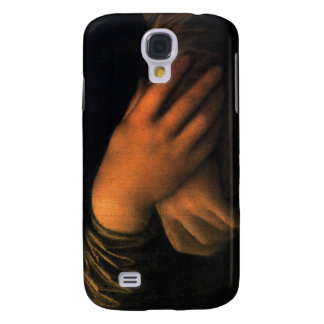 Mona Lisa - hands Galaxy S4 Cover