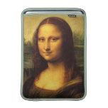 Mona Lisa Head Detail - Leonardo Da Vinci MacBook Air Sleeves