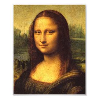 Mona Lisa Head Detail - Leonardo Da Vinci Photo Print