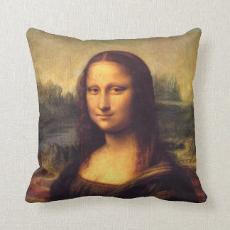 Mona Lisa hermosa Almohadas