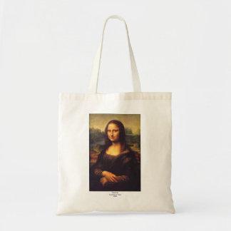 Mona Lisa hermosa Bolsas