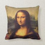 Mona Lisa hermosa Cojin