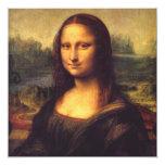 """Mona Lisa hermosa Invitación 5.25"""" X 5.25"""""""