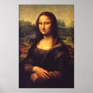 Mona Lisa hermosa Poster