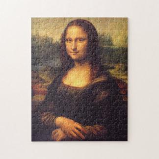 Mona Lisa hermosa Puzzle Con Fotos