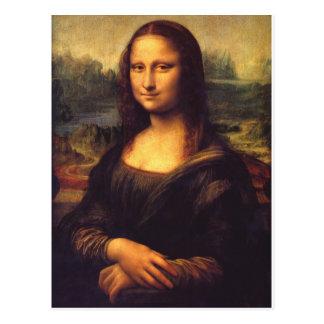 Mona Lisa hermosa Tarjeta Postal