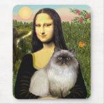 Mona Lisa - Himalayan cat 7 Mouse Pad