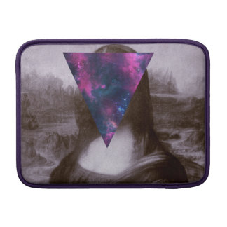 Mona lisa hipster. sleeve for MacBook air