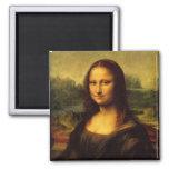 Mona Lisa Imán Cuadrado