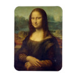 Mona Lisa Imán Rectangular
