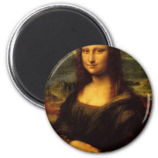 Mona Lisa Imán Redondo 5 Cm