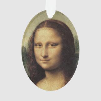 Mona Lisa in detail by Leonardo da Vinci Ornament