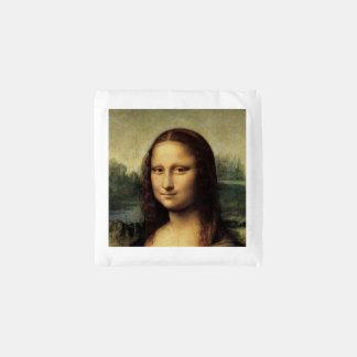 Mona Lisa in detail by Leonardo da Vinci Reusable Bag