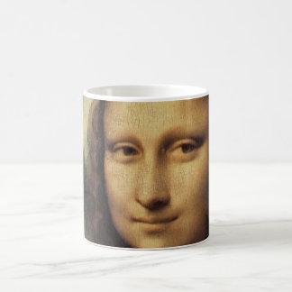 Mona Lisa in detail Classic White Coffee Mug