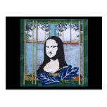 Mona Lisa in the Country Postcard