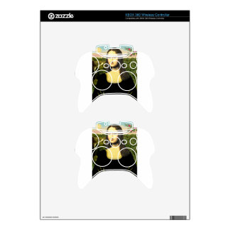 Mona Lisa - insert a pet (#2) Xbox 360 Controller Decal