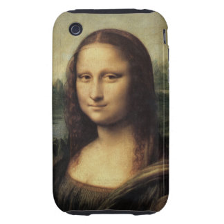 Mona Lisa iPhone 3 Tough Cases